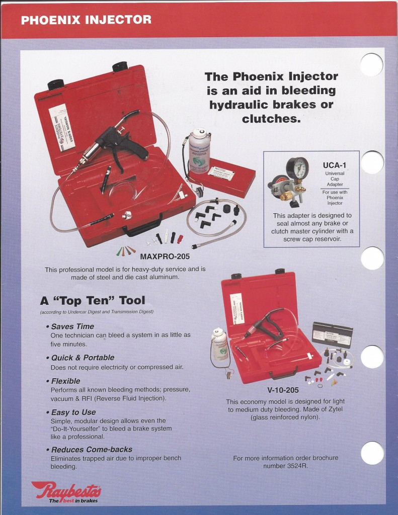 Raybestos Tools & Equipment0002 - Phoenix Systems