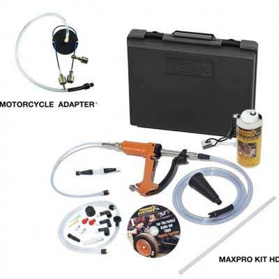 reverse brake bleeder with motorcycle adapter