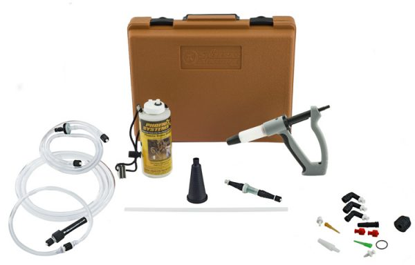 Car brake bleeding kit