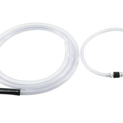 Brake fluid capture and outlet hoses