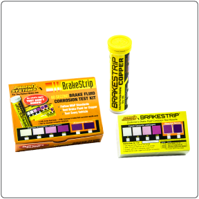Brake Fluid Test Kit with 100 brake fluid tester strips from Phoenix Systems