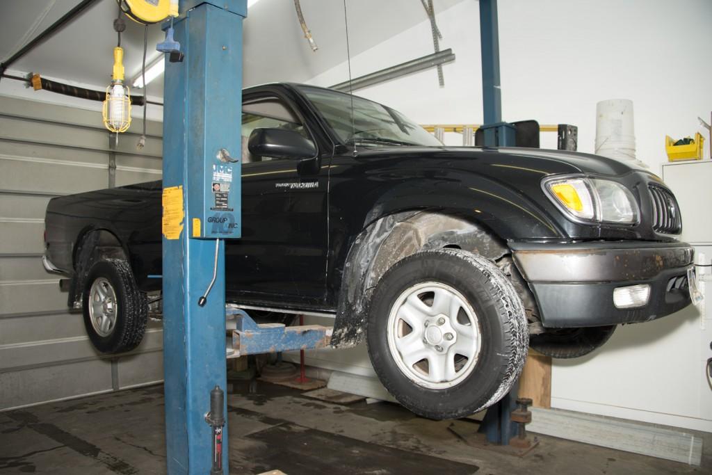 Front Wheel Brake Inspection 01