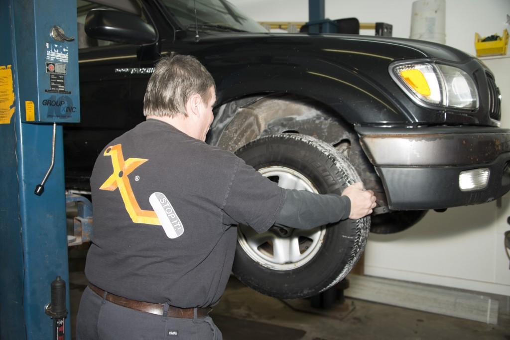 Front Wheel Brake Inspection 03