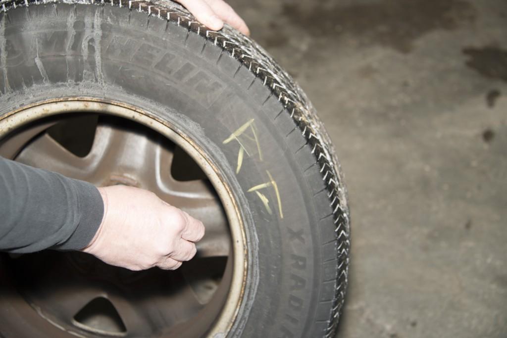 Front Wheel Brake Inspection 06