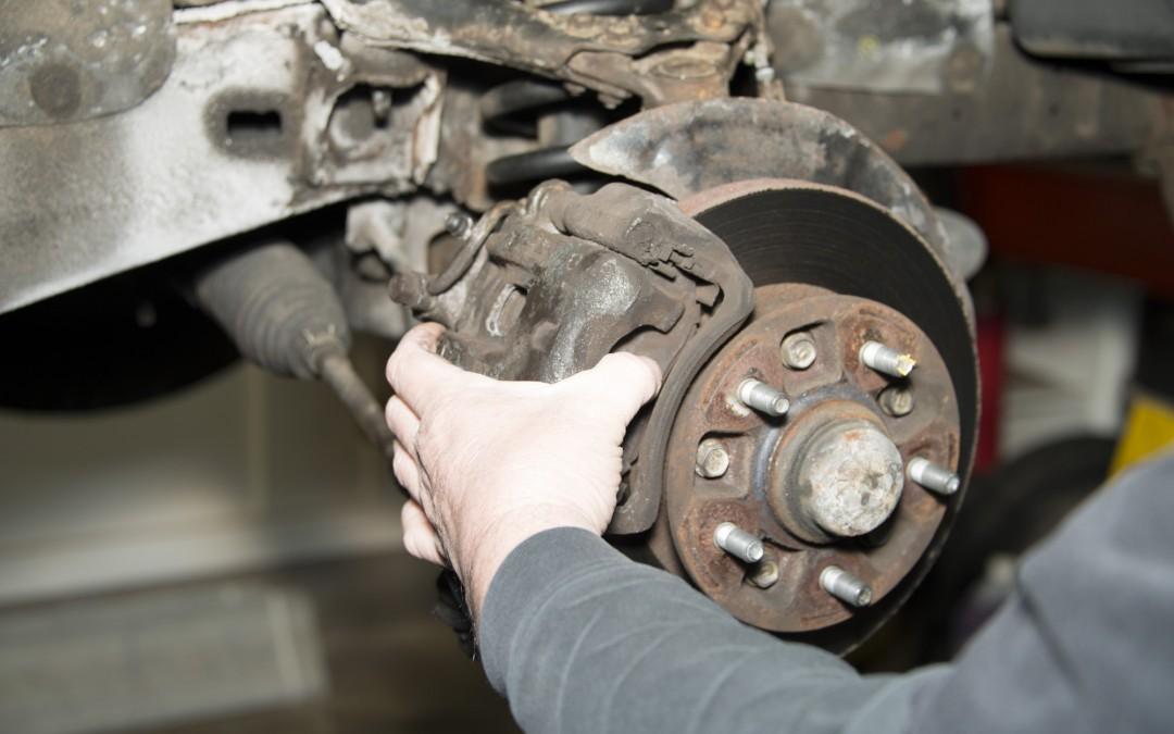 Front Wheel Brake Inspection Part 1