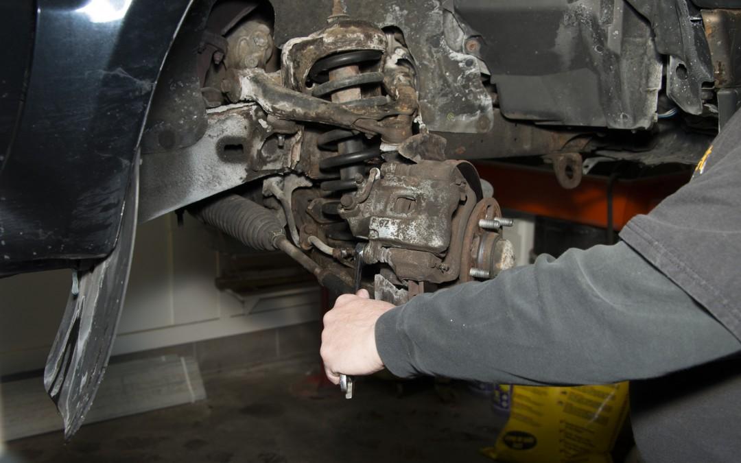 Front Wheel Brake Inspection Part 2