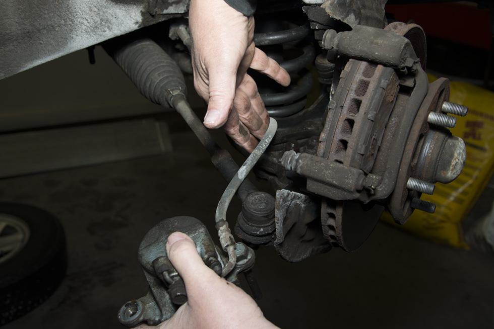 Front Wheel Brake Inspection Part 3