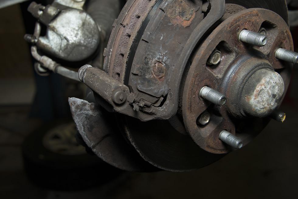 Front Wheel Brake Inspection 23