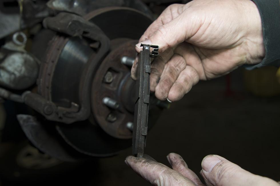 Front Wheel Brake Inspection 26