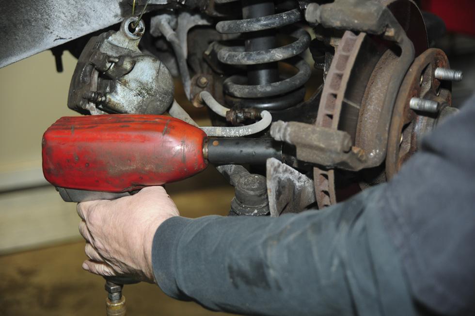 Front Wheel Brake Inspection 31