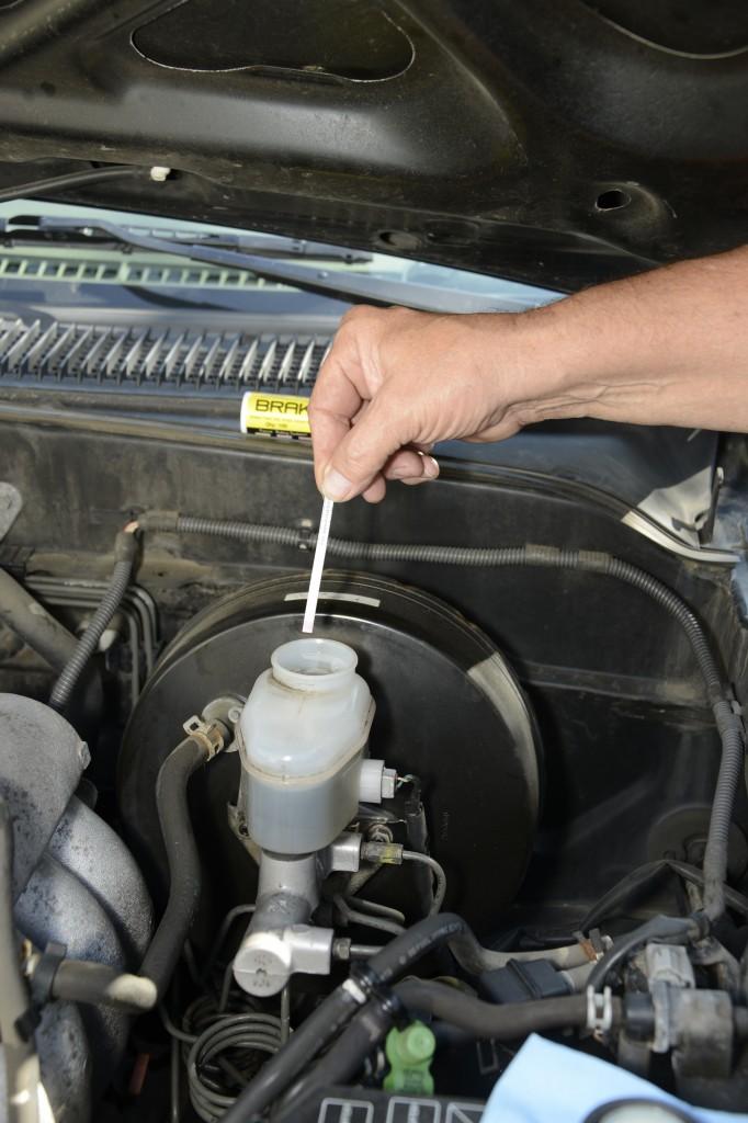 When to change brake fluid 08