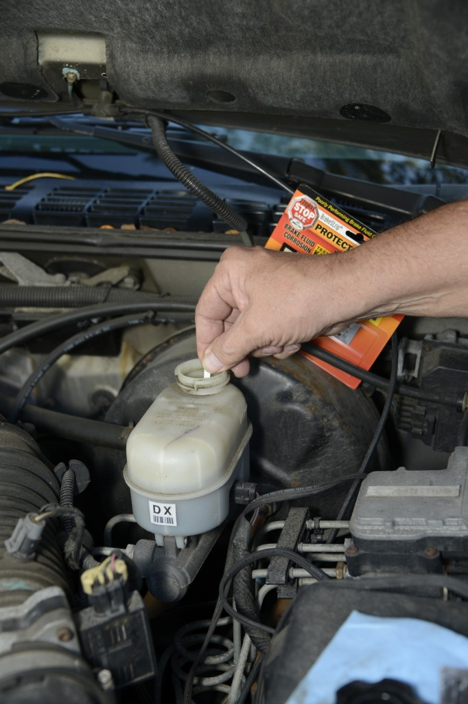 When to change brake fluid 11