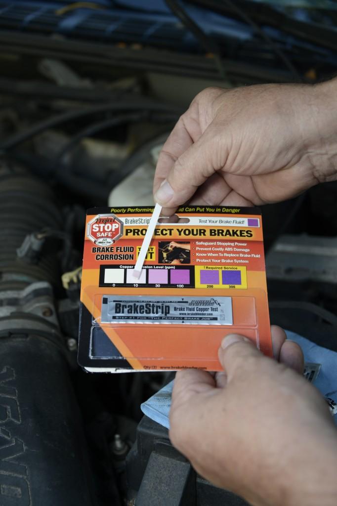 When to change brake fluid 12