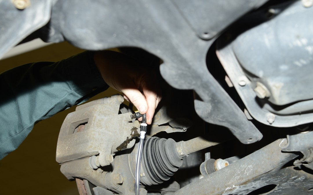 How To Bleed Brakes on a Hybrid Vehicle Part 2