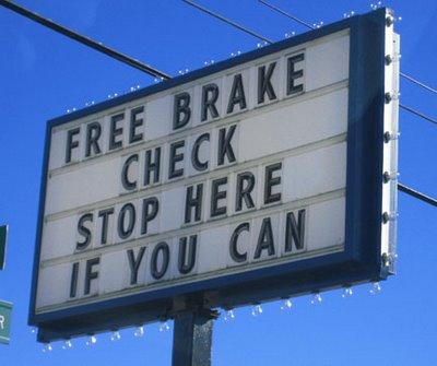Brake Service Philosophy