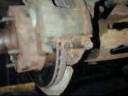 Corrosion of sliding hardware