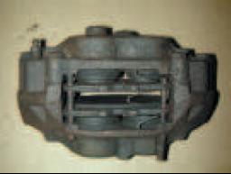 Inboard piston not releasing (mechanical)