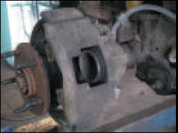 Caliper Housing Binding