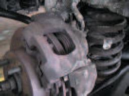 Caliper housing seized corrosion