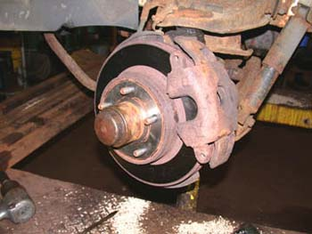 Outboard Pad Wear and/or Brake Pull