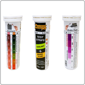 Dual coolant and brake fluid testers from Phoenix Systems