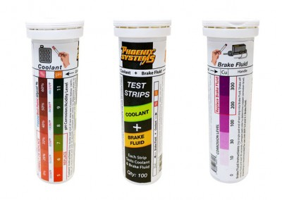 Phoenix Systems Announces Coolant + Brake Fluid Test