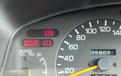 Red Brake Warning Light On