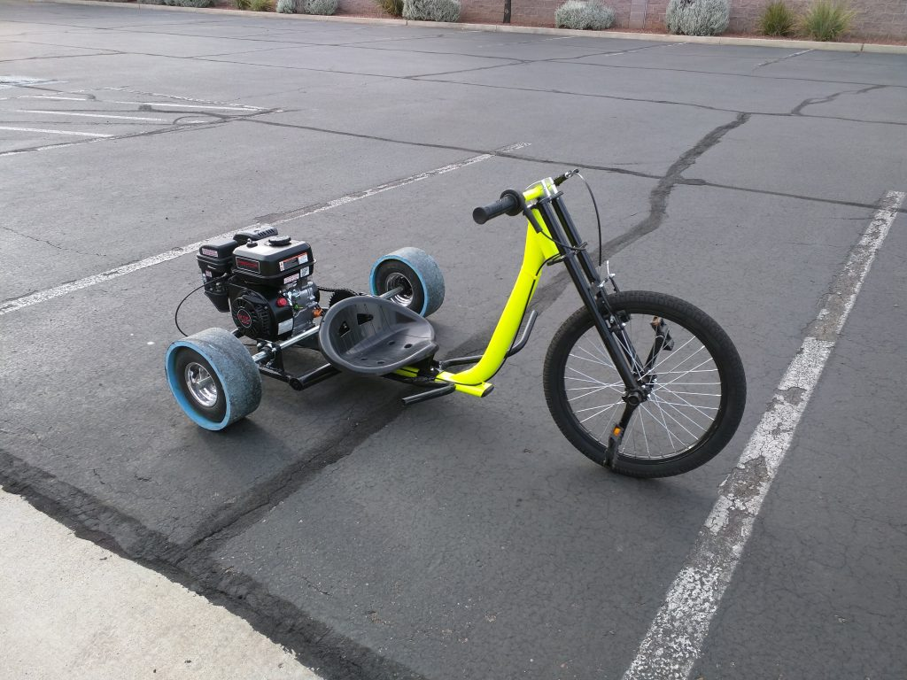 How To Build A Motorized Drift Trike Phoenix Systems