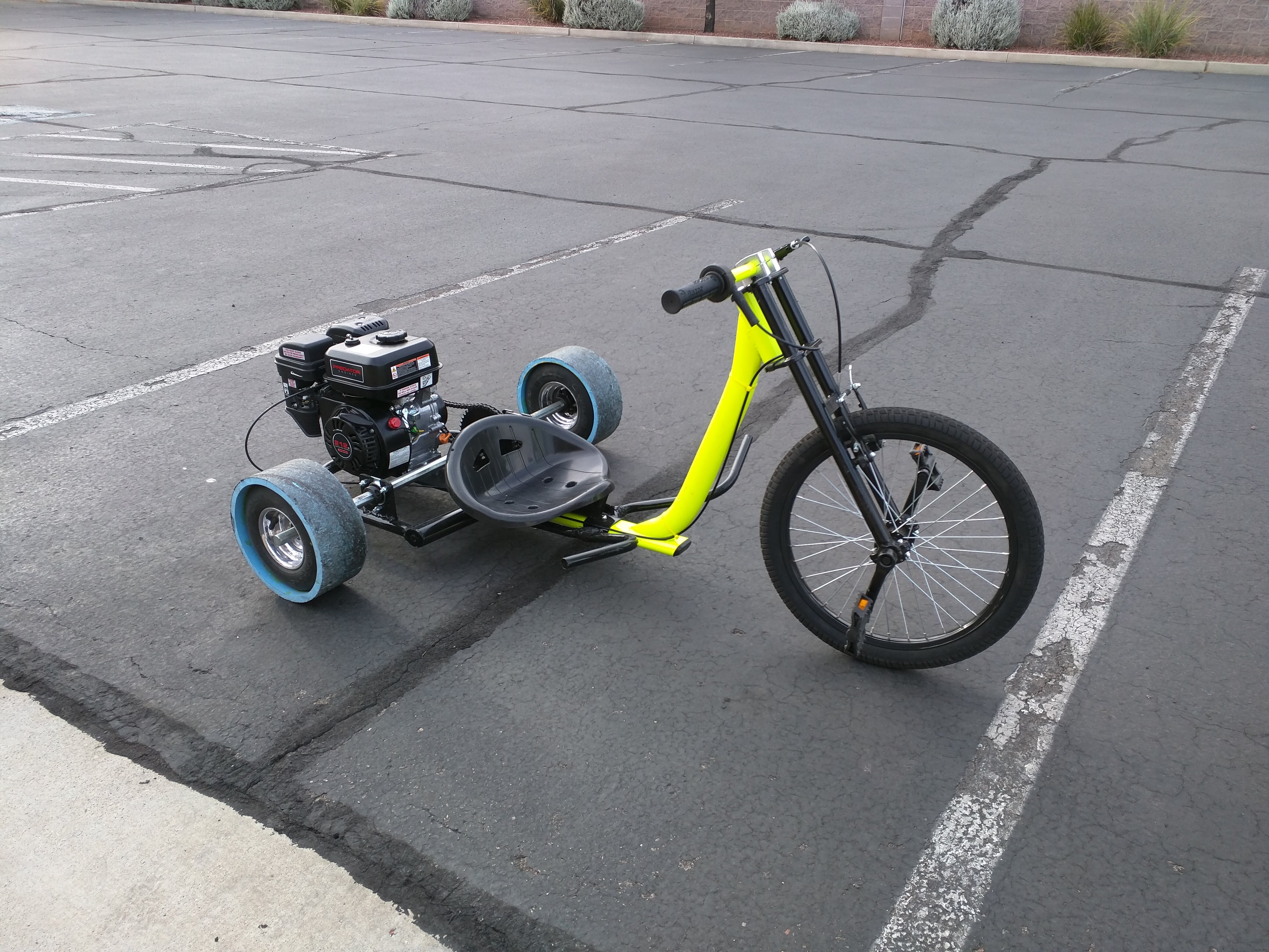 How to build a Motorized Drift Trike - Phoenix Systems