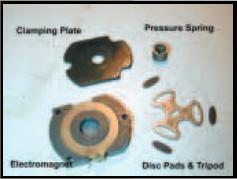Delco VI electromagnetic motor brake