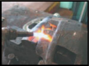 Heating the bleeder screw
